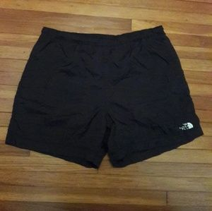 The North Face Athletic Black Shorts